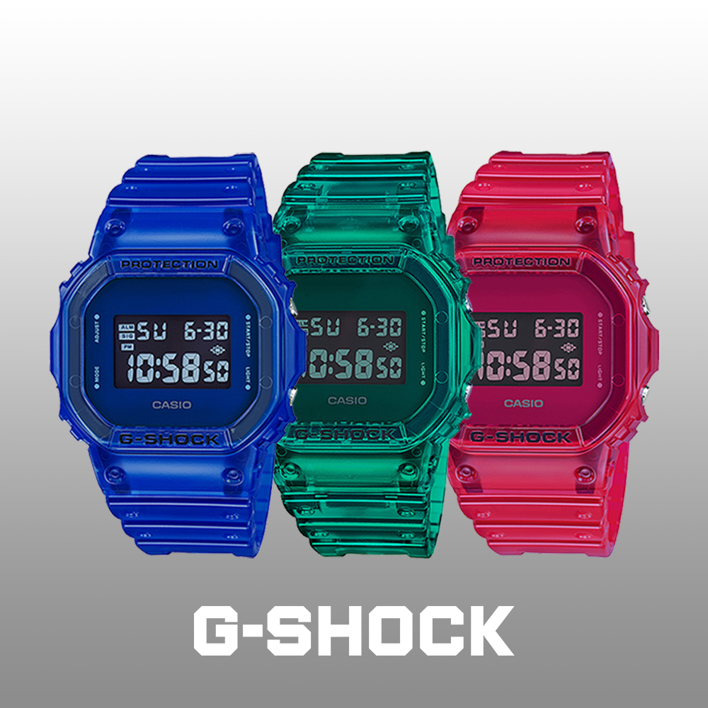 New collection of G-SHOCK
